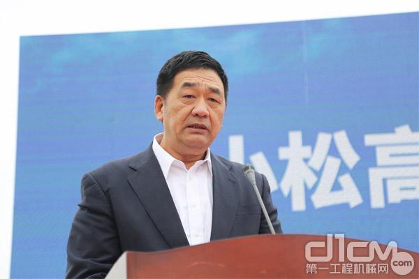小松(中国)投资有限公司信息技术应用本部本部长 张洪