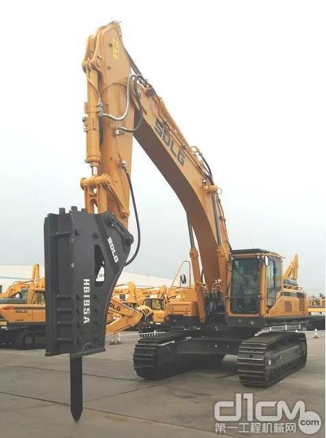 E6500F大型挖掘机打锤王