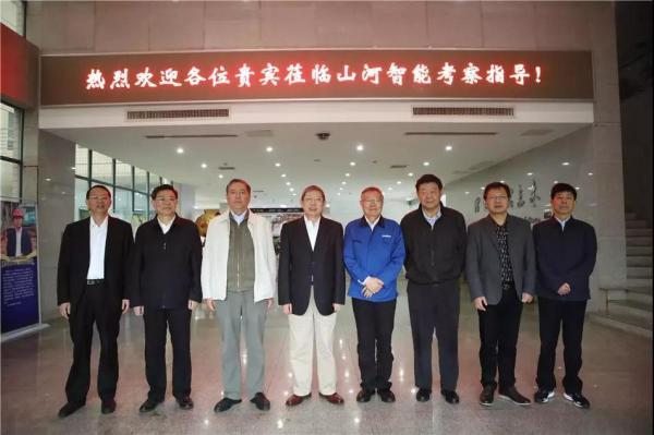 全国政协常委、外事委员会副主任杨雄一行调研山河智能