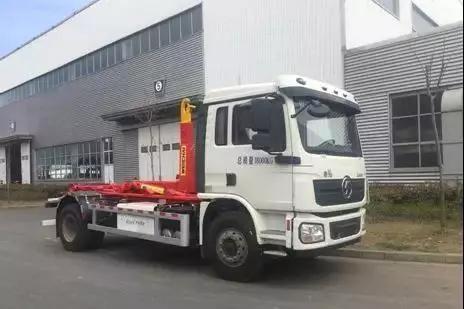 陕汽新能源—纯电动车厢可卸式垃圾车