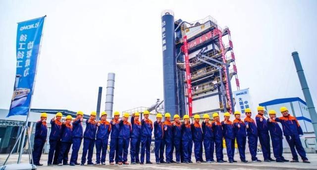 安徽宿州通核心骨干齐赞徐工4000型环保型沥青拌和站