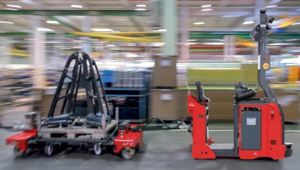 林德搬運機器人Linde Robotics-水平托盤搬運叉車T-AGV
