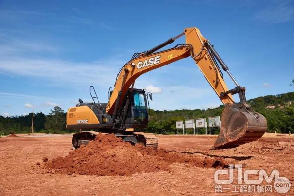 凯斯CX180<a href=http://product.d1cm.com/wajueji/ target=_blank>挖掘机</a>