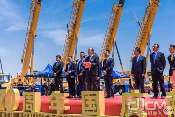 徐工机械副总裁、进出口公司总经理刘建森致辞