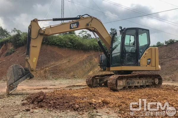 新一代CAT® 307.5迷你挖