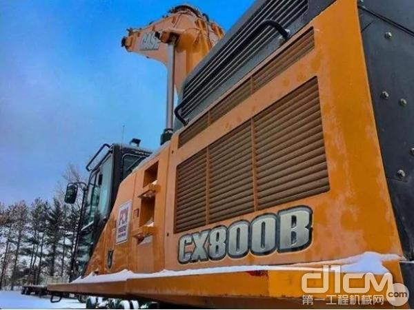 凯斯 CX800BME挖掘机