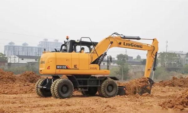 柳工CLGW915E挖掘机