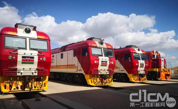 肯尼亚蒙内铁路旅客列车