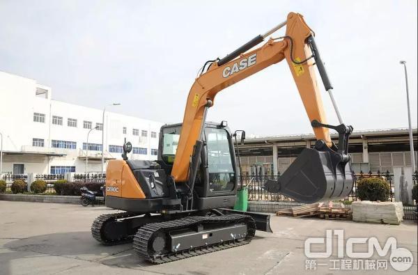 凯斯CX80C小型<a href=http://product.d1cm.com/wajueji/ target=_blank>挖掘机</a>