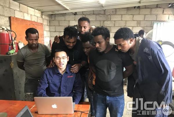 陈兆武和非洲同事