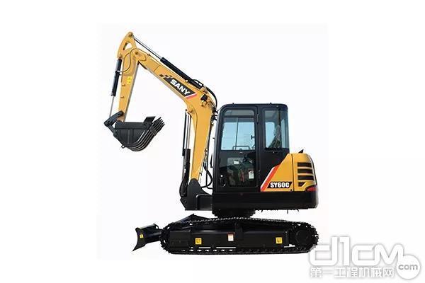 三一SY60C挖掘机