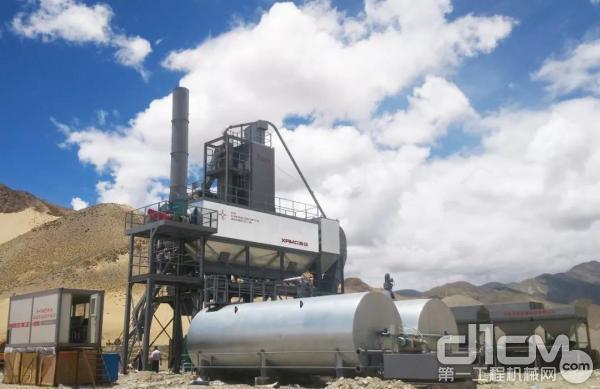 西筑J1500型沥青混合料搅拌设备