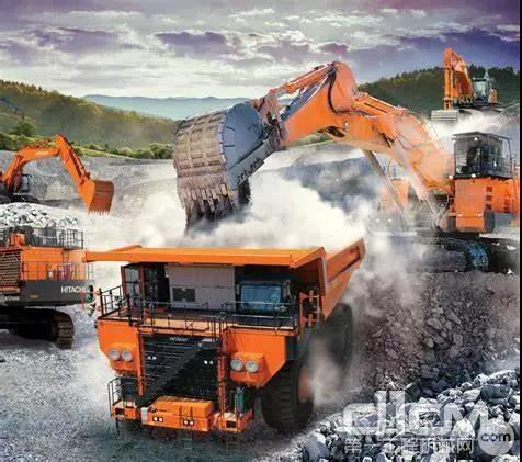 日立建机在中国布局20吨以上的土方设备租赁