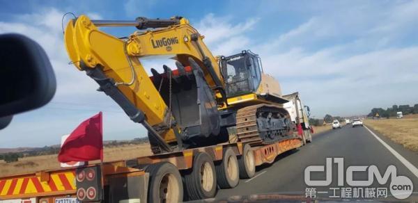 柳工970E大型挖掘机