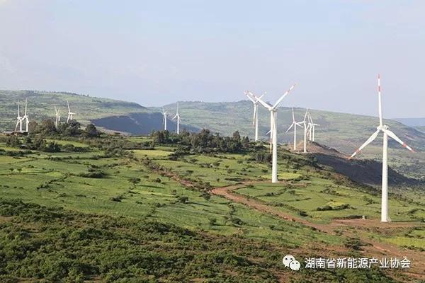 中国风电走上非洲屋脊