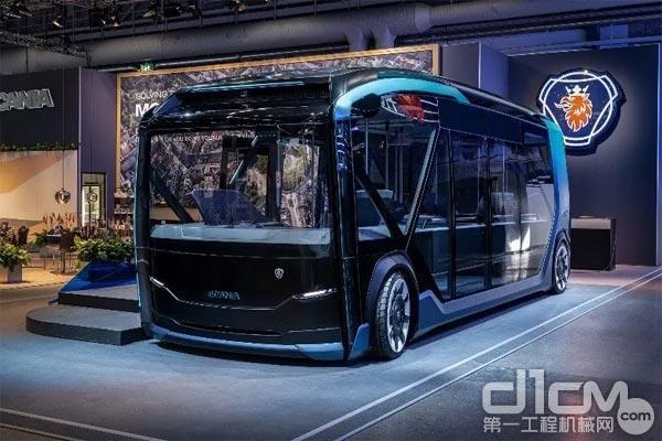 斯堪尼亚首次亮相纯电动自动驾驶概念车——NXT