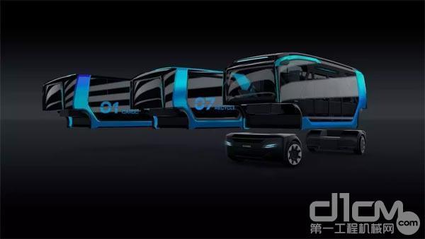 斯堪尼亚首次亮相纯电动自动驾驶概念车——NXT的解析图