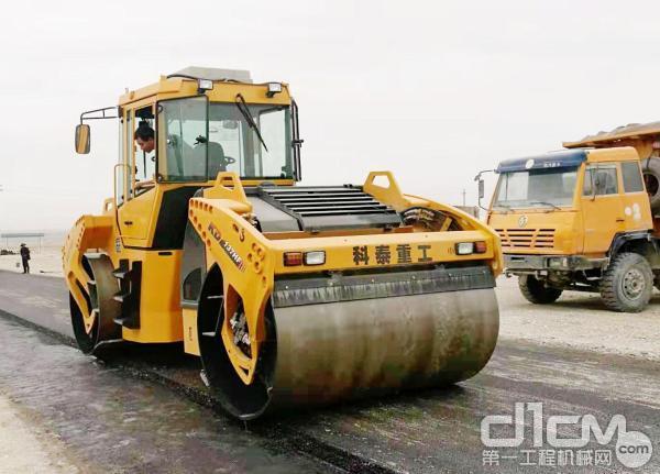 科泰重工KD137HF全液压双钢轮振动压路机