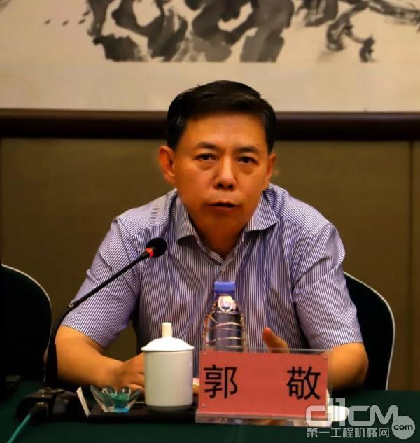 生态环境部国际合作司司长郭敬