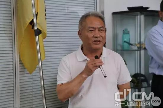 宝马格(中国)工程机械有限公司总经理宋功成