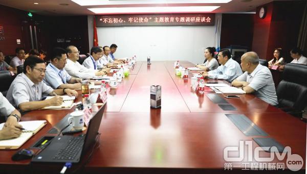 国机集团党委常委、副总经理高建设到国机集团下属企业中国国机重工集团有限公司调研