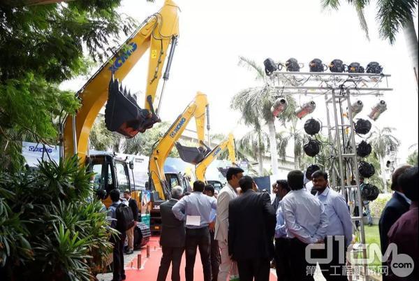 徐工挖机新品发布会在印度第四大城市金奈隆重举行