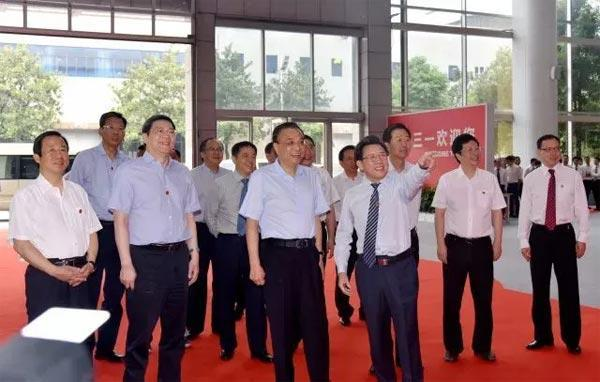 总理参观三一集团
