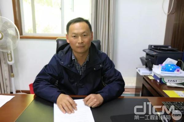 宁波舜鑫新型建材有限公司总经理周忠华先生