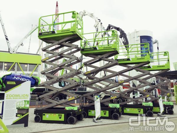德国慕尼黑 电驱剪叉式高空作业平台盛装亮相 张冠英