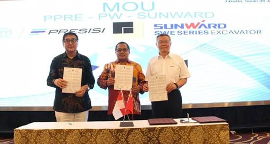 山河智能與印尼國有建筑公司簽訂全面合作協議