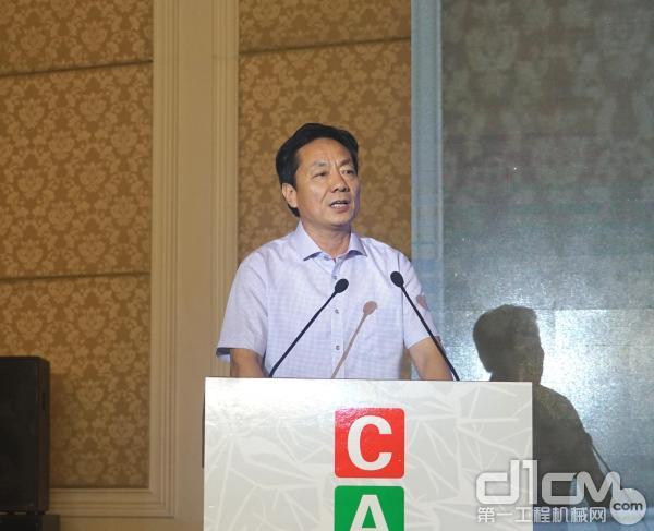 安徽省农业机械技术推广总站站长江洪银致辞