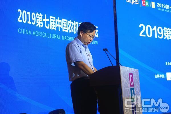 中联重机副总裁苏敏先生致辞