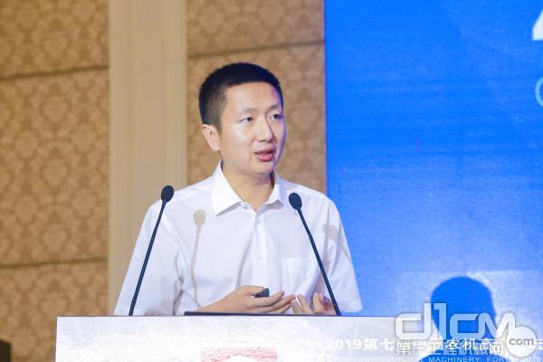 北京卓远智联科技有限公司总经理杨君玉作主题演讲