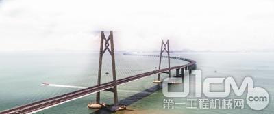 中大机械助力港珠澳大桥