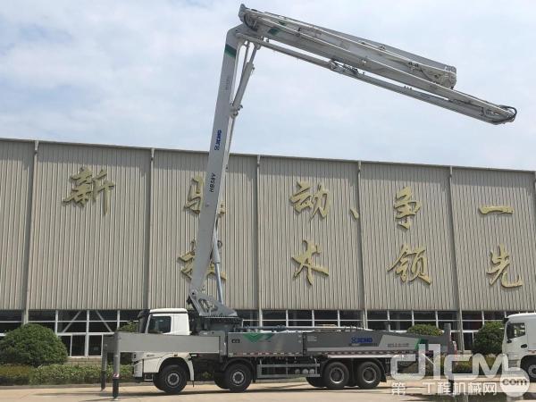 HB58V泵车产品演示