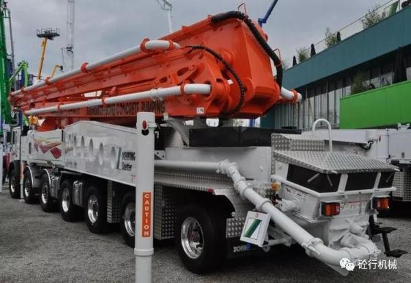 施維英7橋65米最長臂架泵車