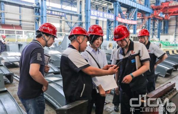北方重工顺利通过宝钢股份供应商现场评审