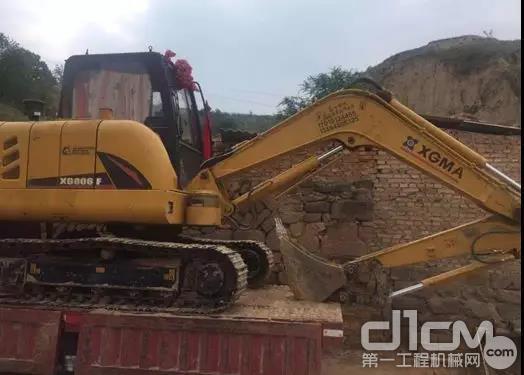 用户的厦工挖掘机