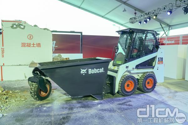 山猫机械S70滑移装载机