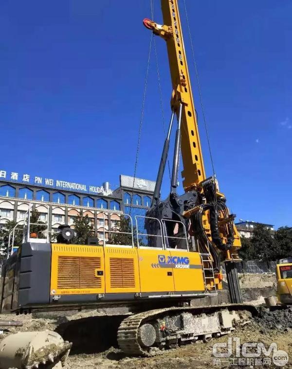 施工利器——旋挖钻机