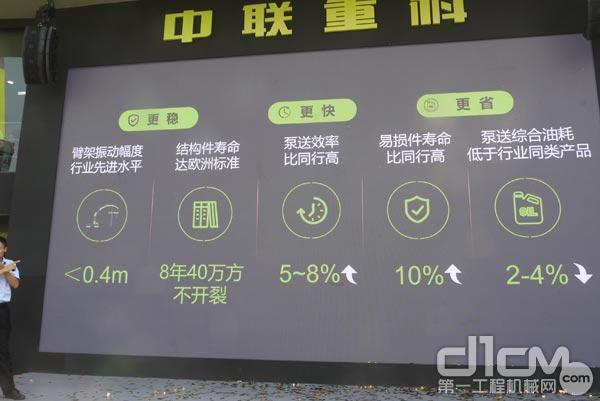 中联重科的国六系列泵车产品特点