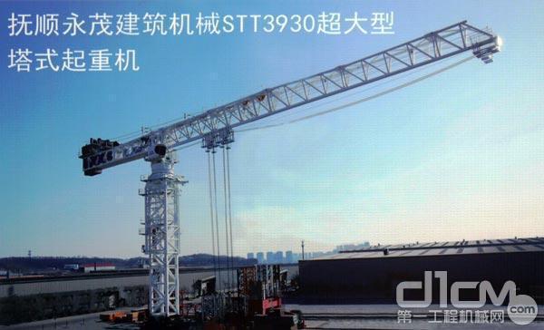 抚顺永茂建机STT3930超大型塔式起重机