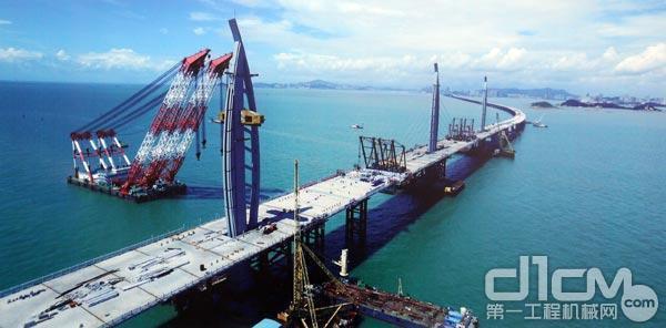 港珠澳大桥建设