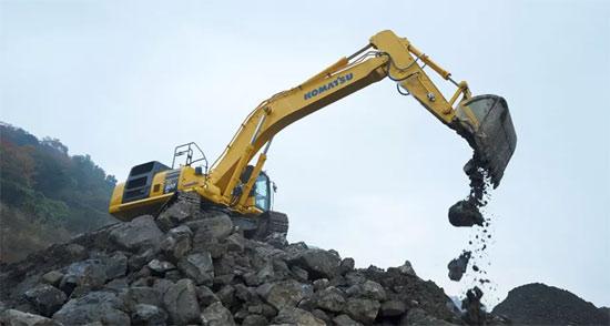 小松50吨级新品PC500LC-10M0挖掘机登场