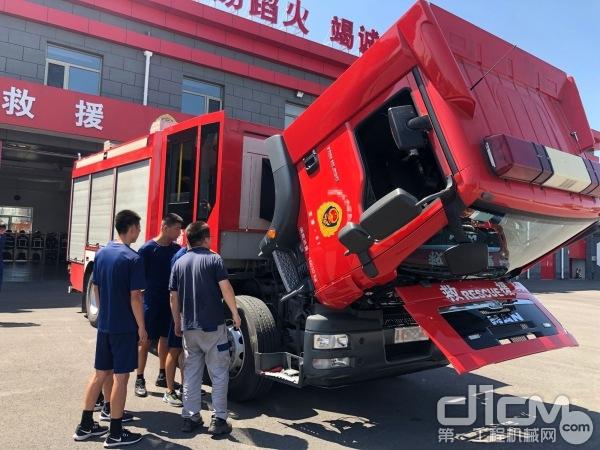 2019曼恩全国消防底盘安全巡检北京站