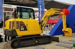 小松经典挖机机型 PC56-7