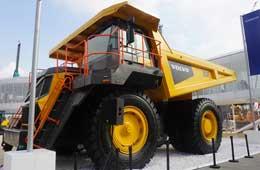 沃尔沃R100E矿用卡车