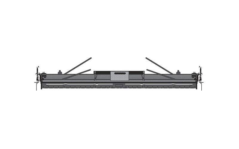 vdt120熨平板—液压伸缩摊铺机图片