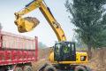 M317D2轮式挖掘机