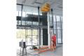 ML8移动桅柱式高空作业平台